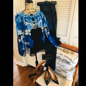 Calvin Klein blouse size small.